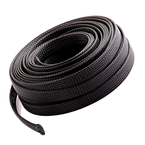 High Flame-Retadant PET braided sleeving