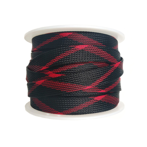 Multicolor PET expandable sleeving